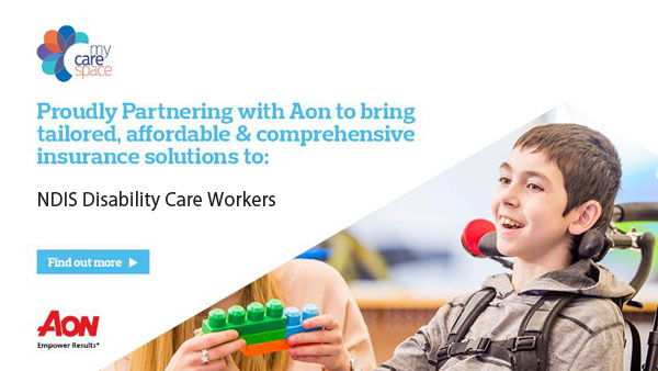 Aon and MyCareSpace working to bring insurance to disability care workers
