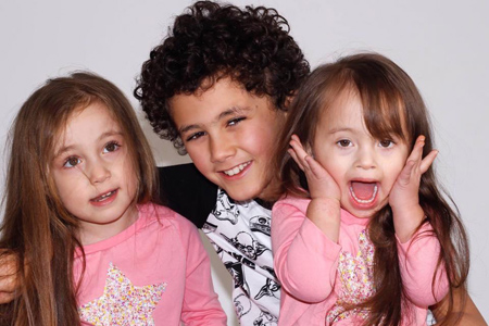 Maia and her siblings